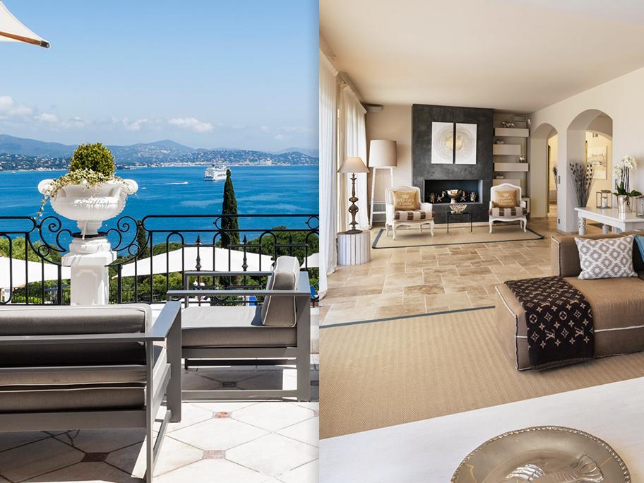 Villa Belrose à St Tropez