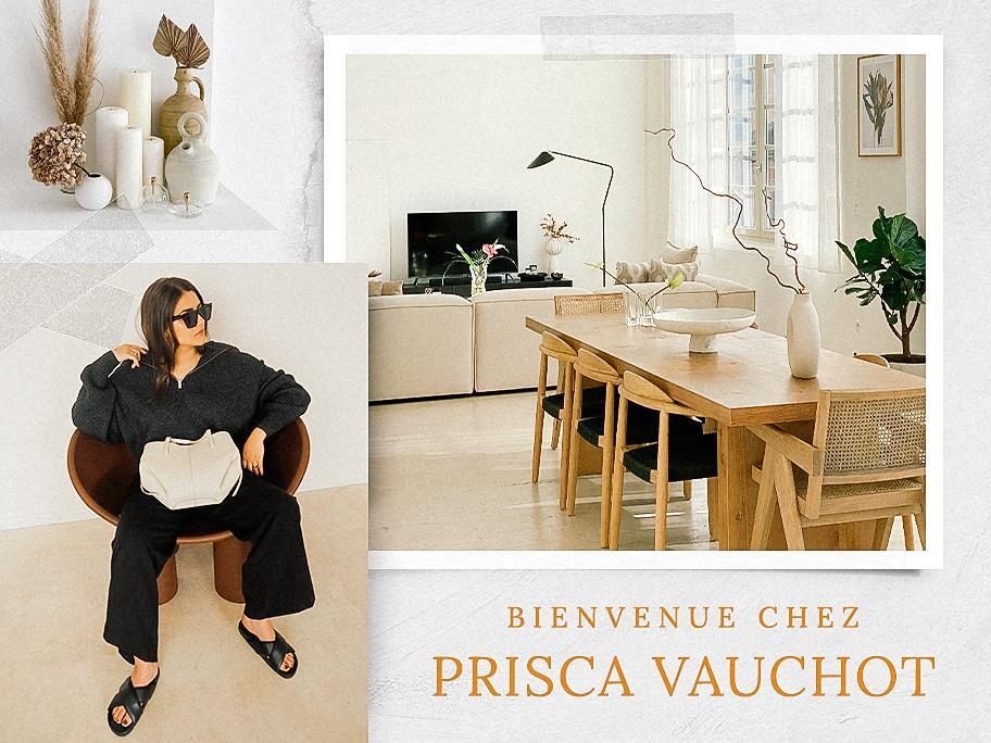 Bienvenue chez Prisca Vauchot