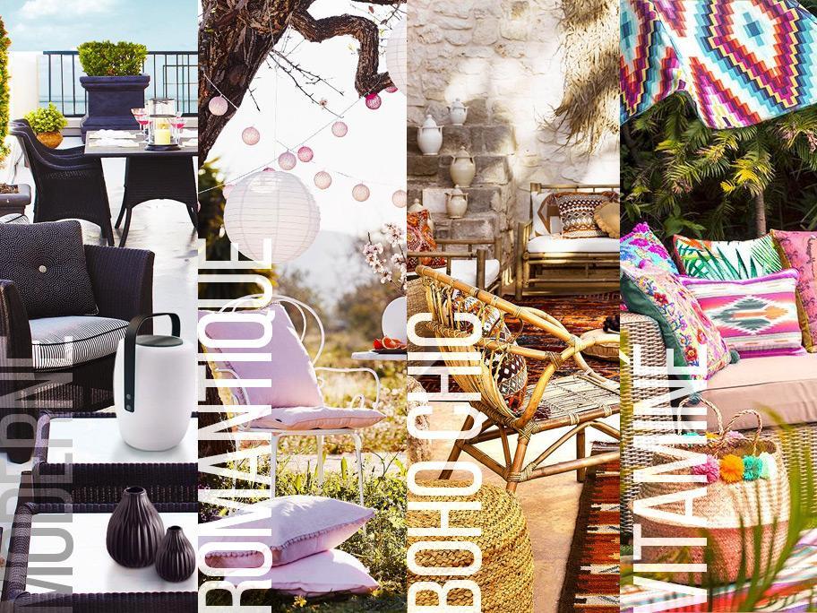 4 styles pour votre terrasse