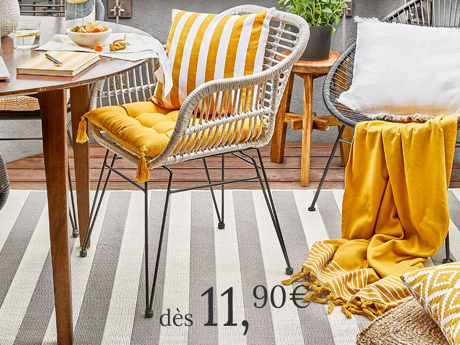 Coussins & galettes outdoor
