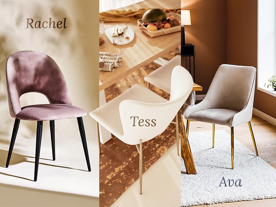 Nos 3 chaises favorites