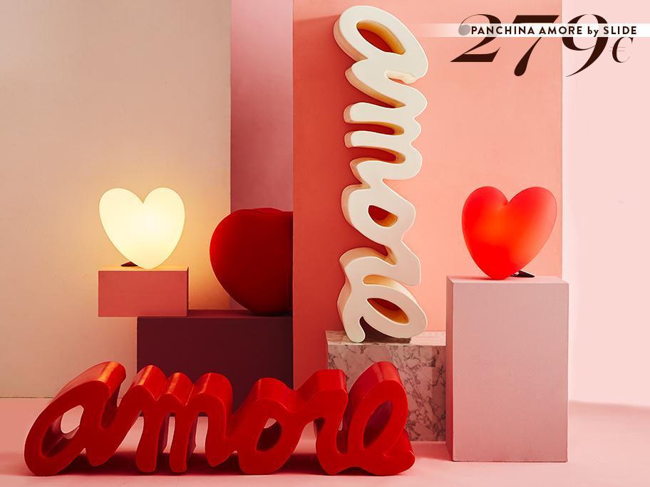 Panchina Amore by Slide