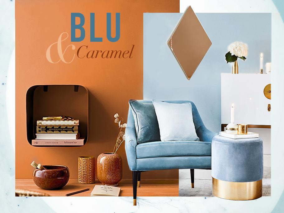 Caramello e Blu