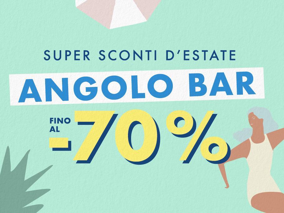 Angolo Bar fino al -70%