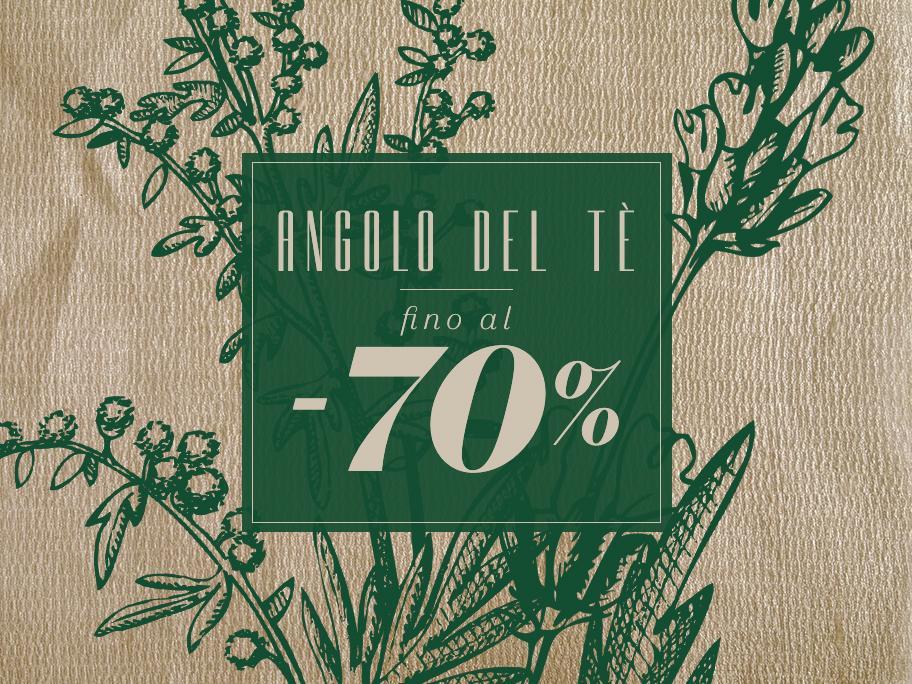 Angolo del Tè fino al -70%