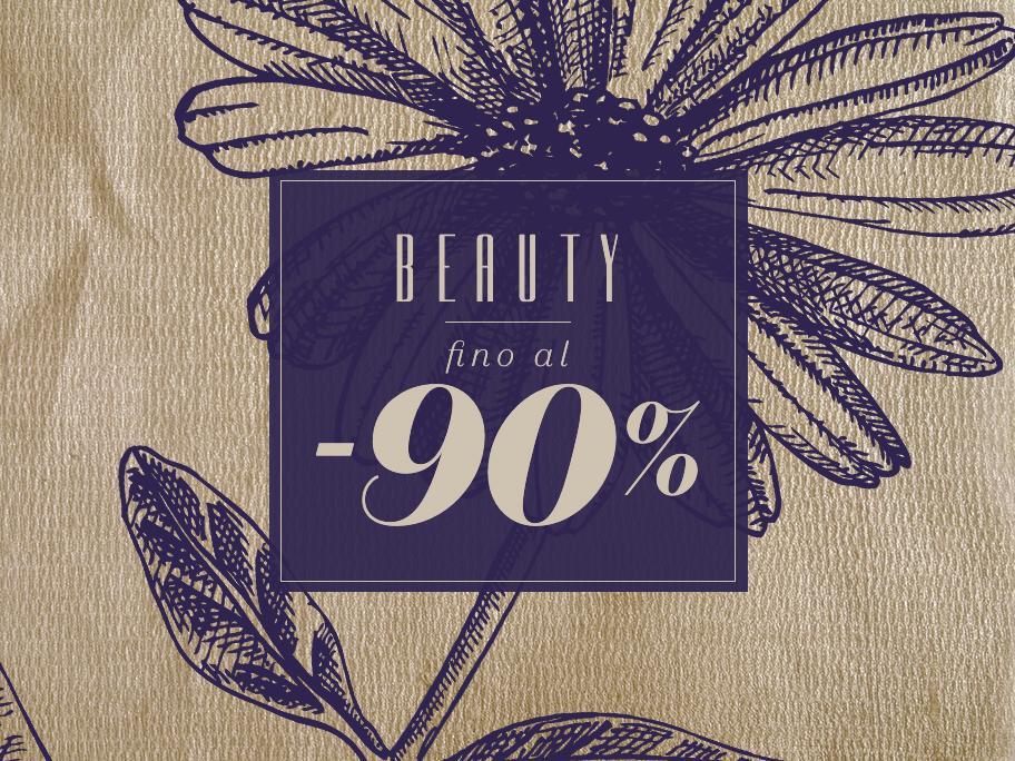 Beauty fino al -90%