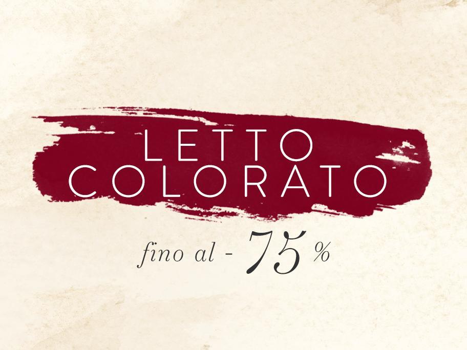 Letto Colorato fino al -75%