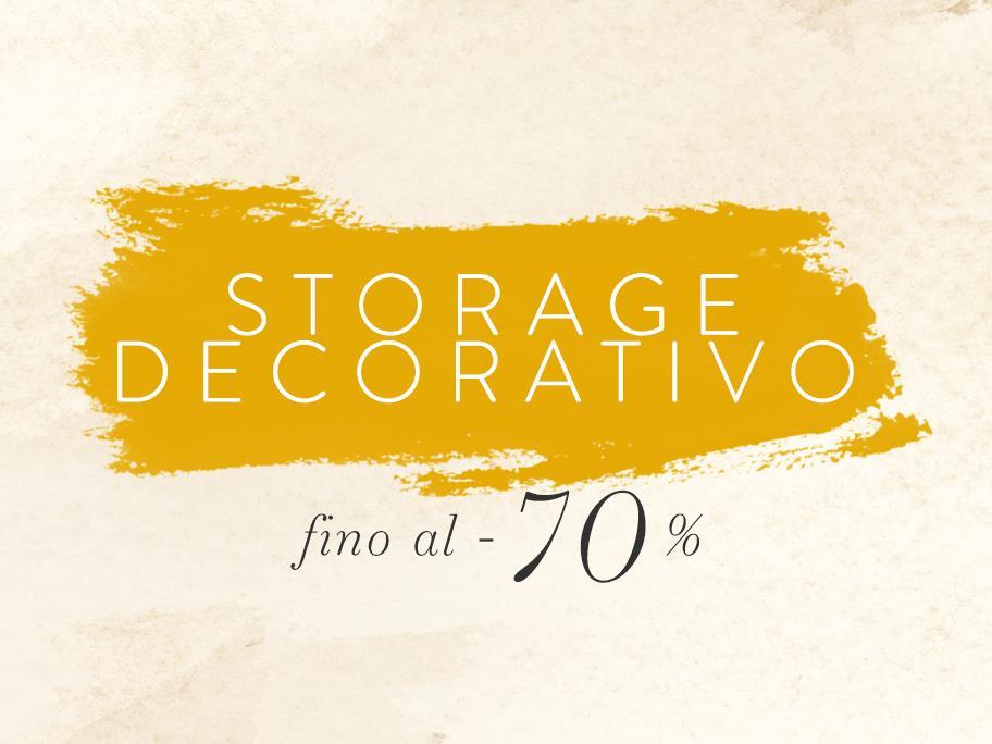Storage Decorativo fino a -70%