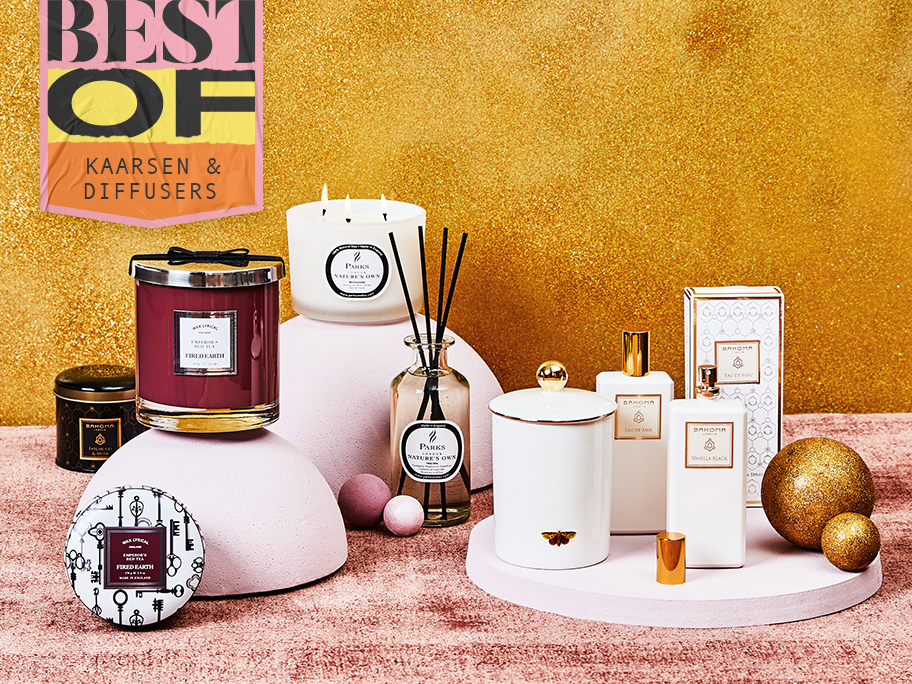 Best of candles & diffusers