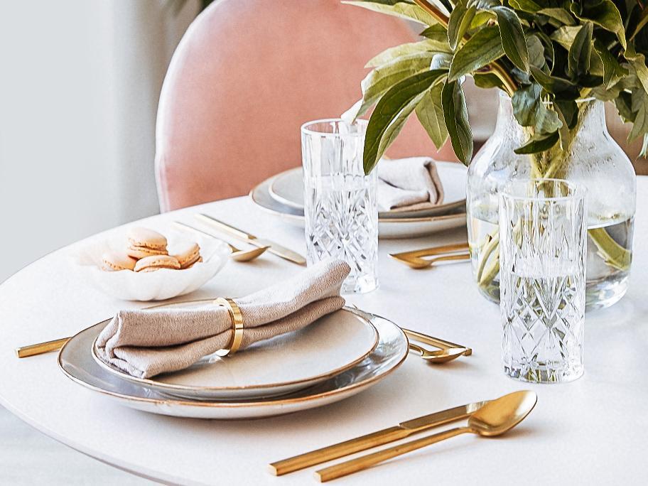 Meer glamour op tafel