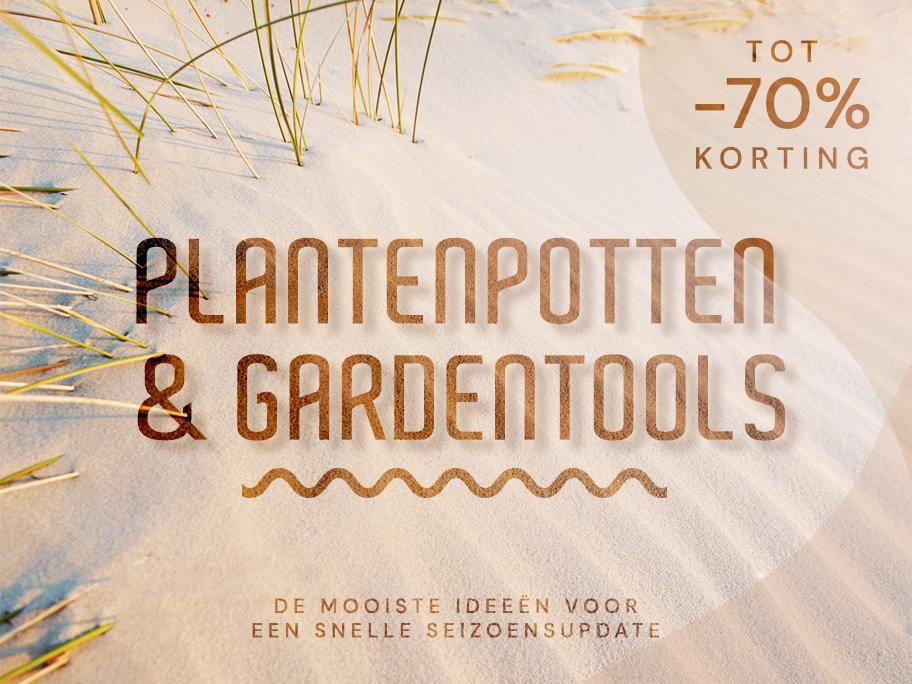 Plantenpotten & gardentools
