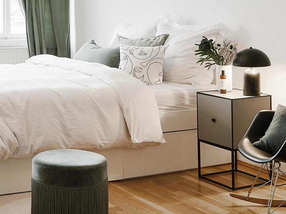 De moderne slaapkamer