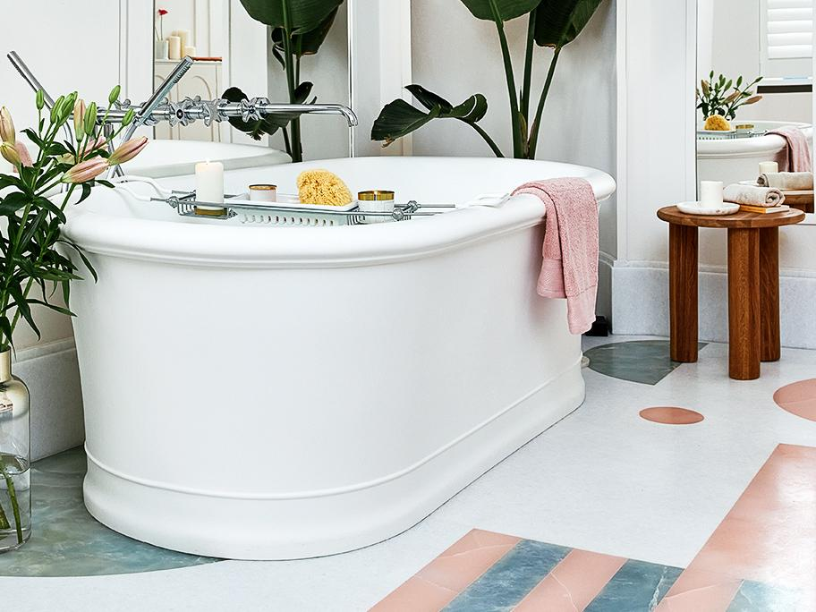 Bonte badkamer