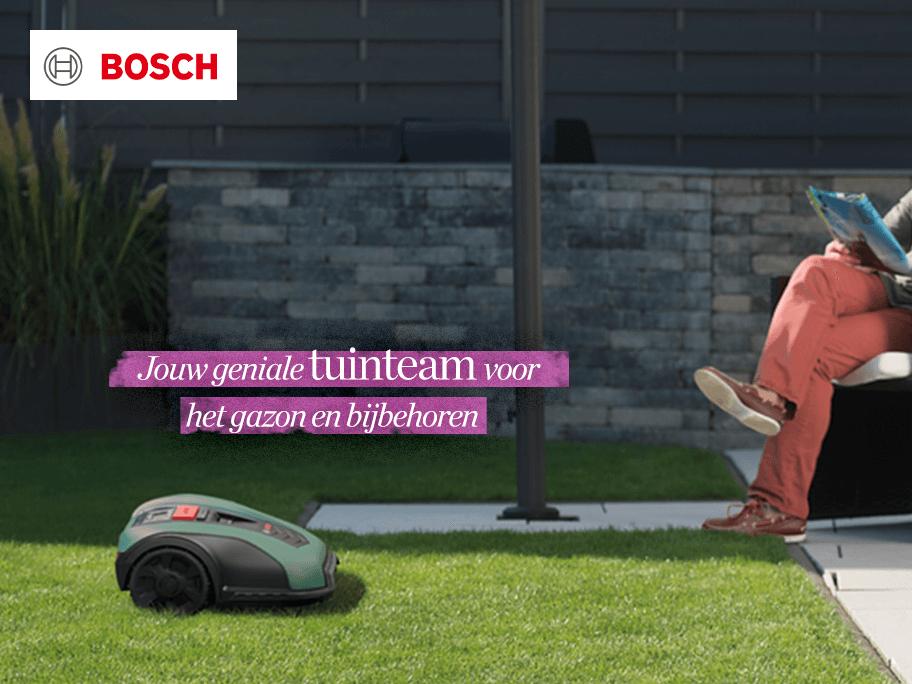 Bosch robot-grasmaaier & meer