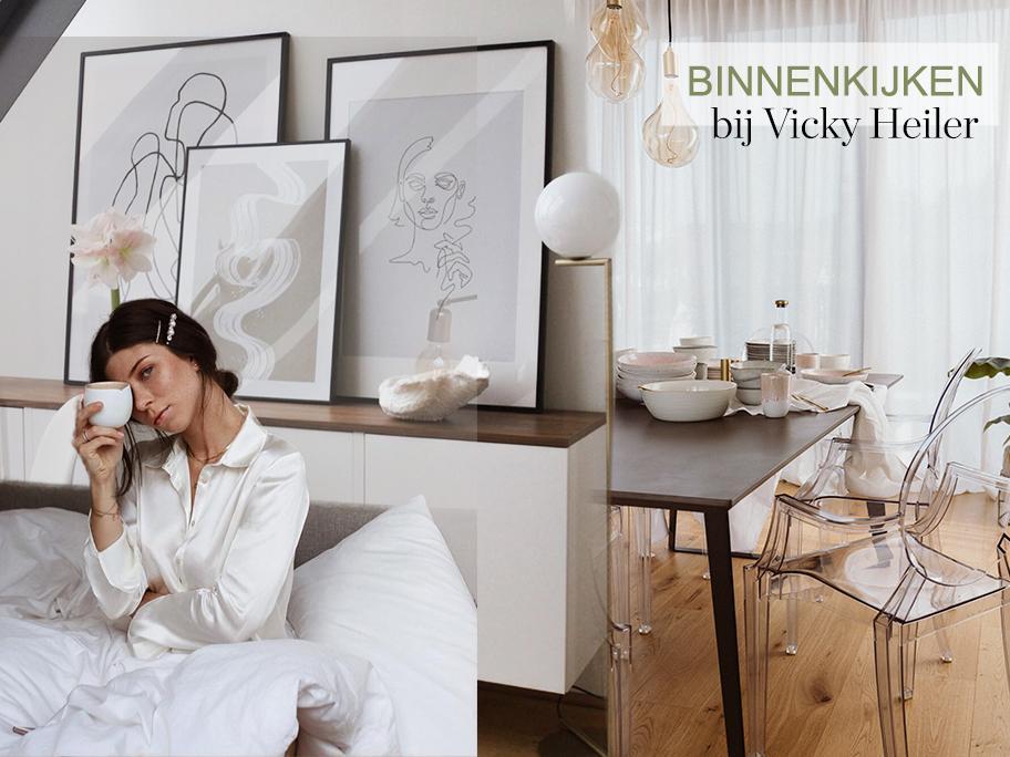 Blogger Vicky showt haar huis