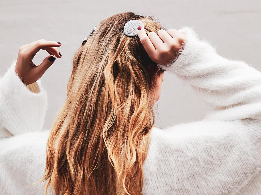 I care for my party hair