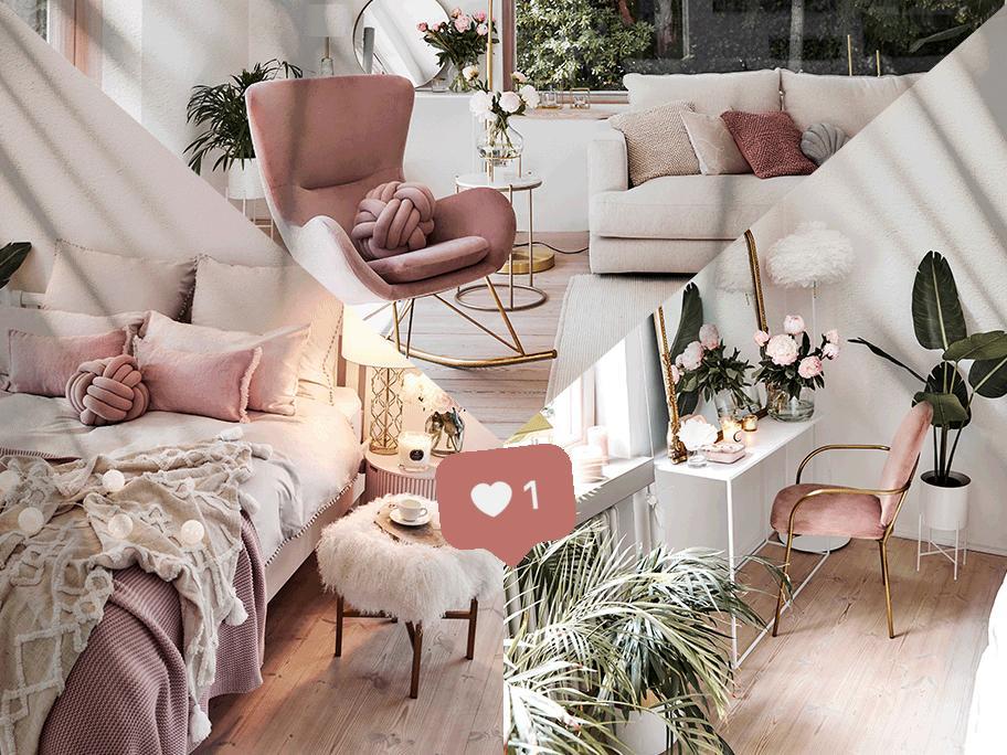 Instagram's finest: pink glam