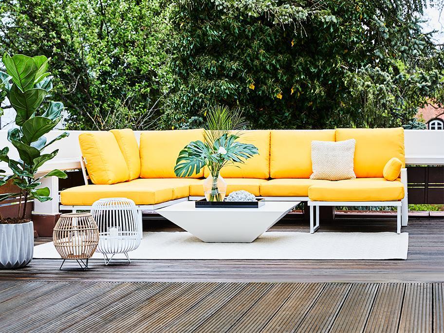 De moderne outdoor lounge
