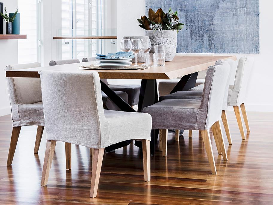 Aaibare gestoffeerde stoelen