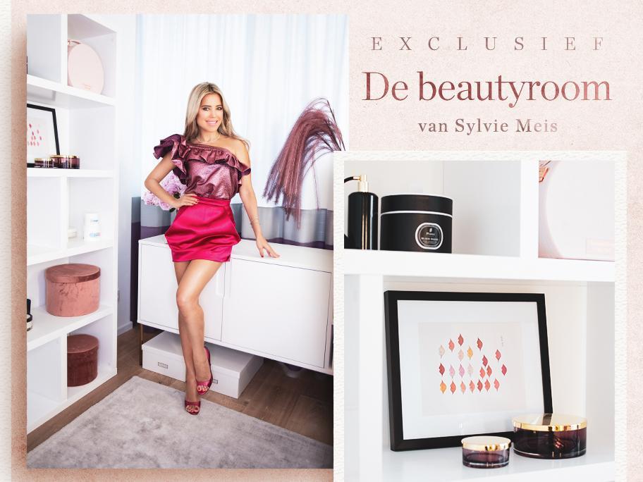 De beautyroom van Sylvie Meis
