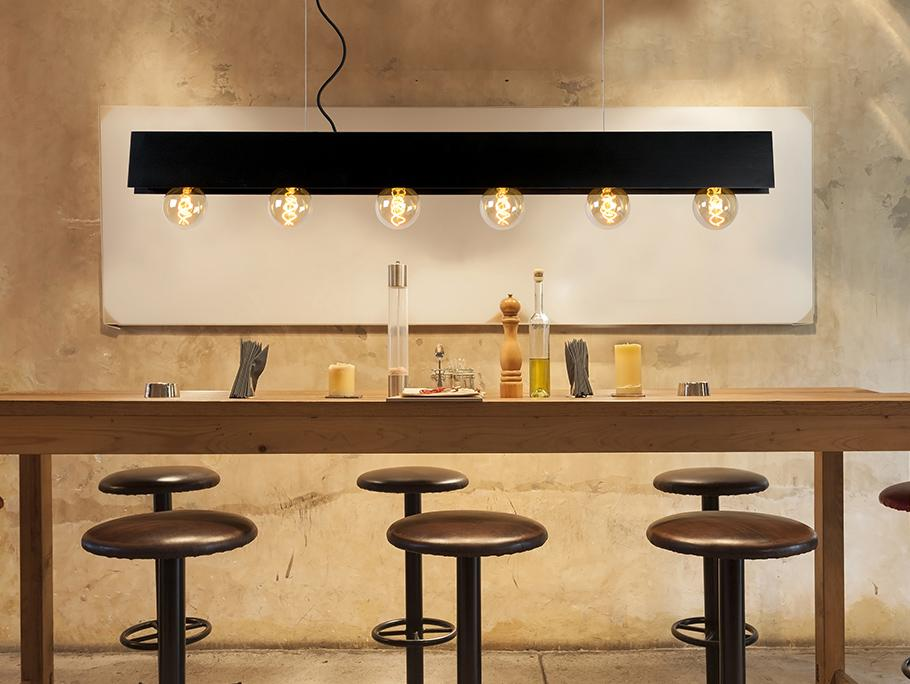 Industrial Glam Lamps
