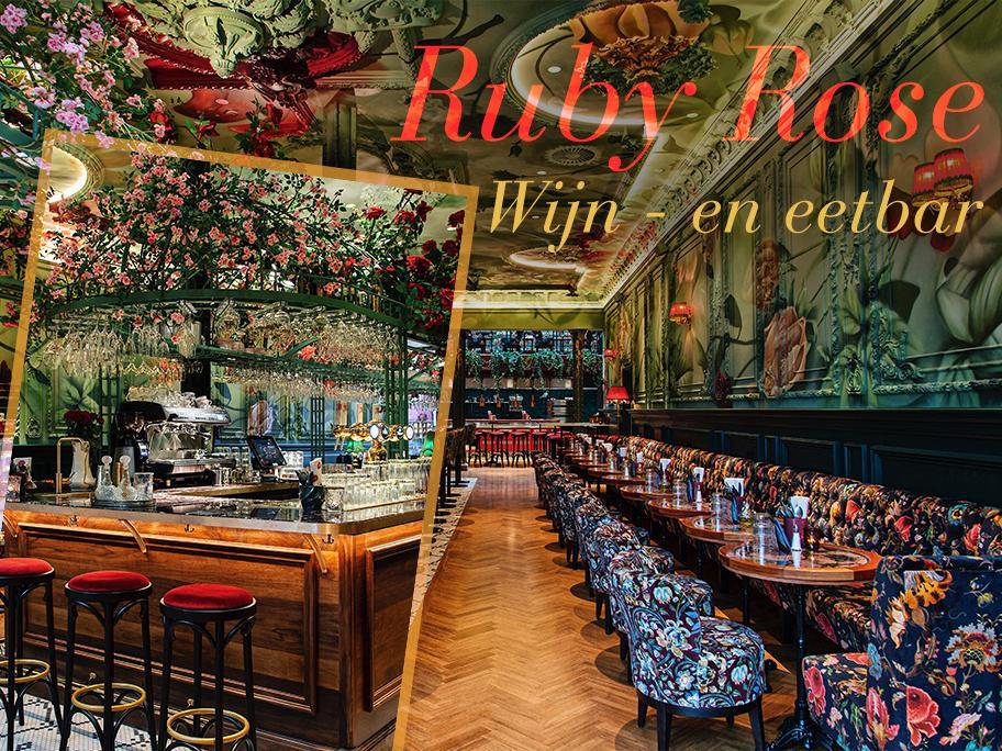 Cocktails bij Ruby Rose