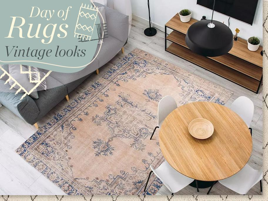 Day of Rugs - Vintage looks
