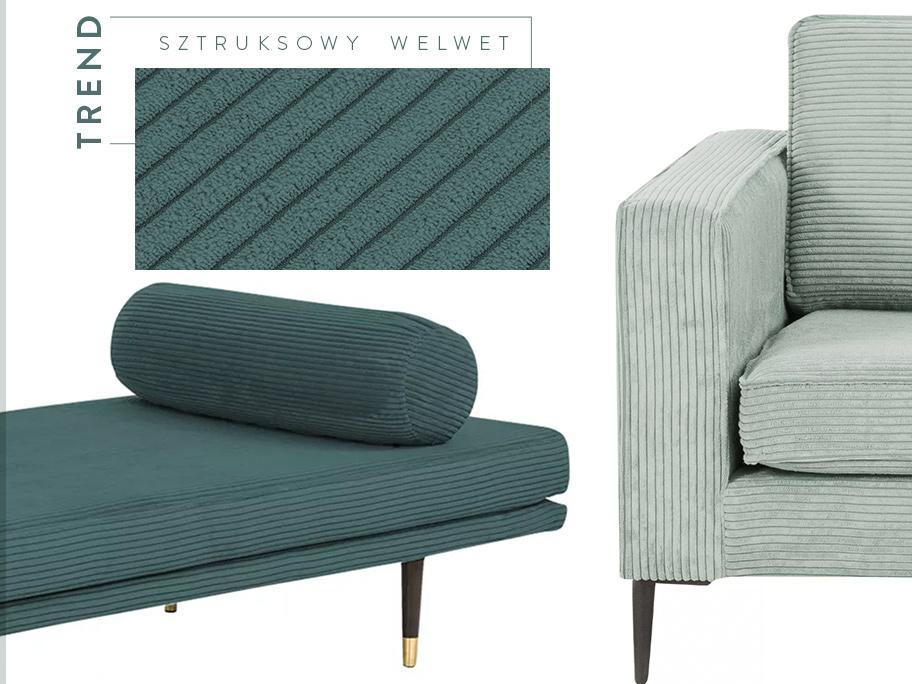 Sofa w modnym obiciu