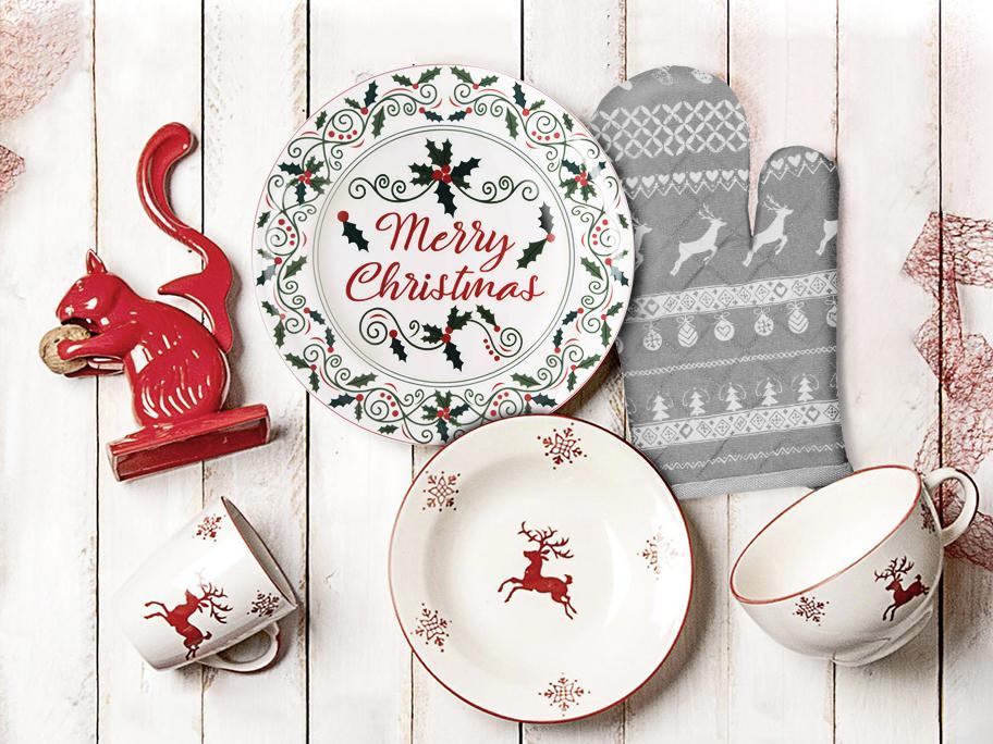 Stół gotowy na Święta