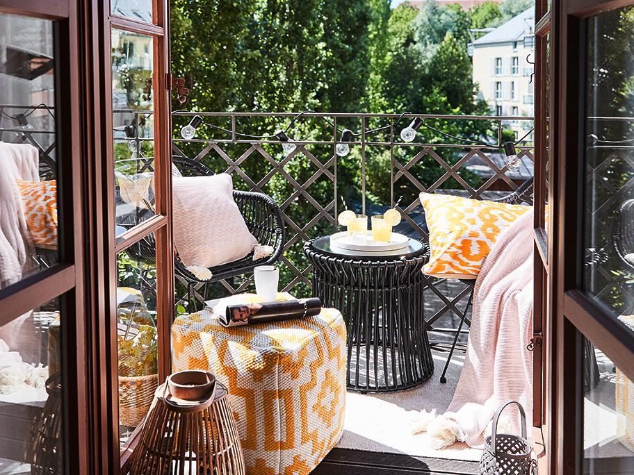 Akcja: mały balkon