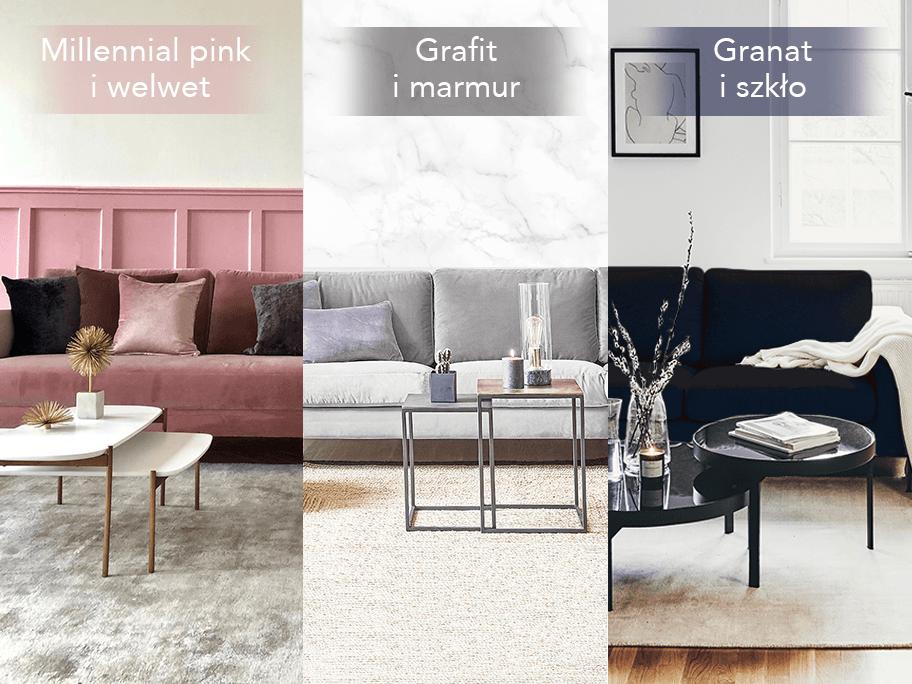 Sofa | Trzy stylizacje