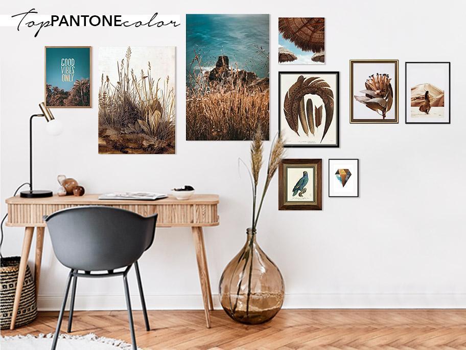 Wall Gallery w barwach Pantone