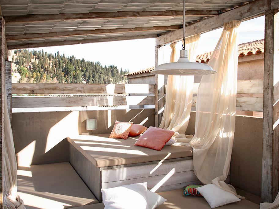 Sypialnia na balkonie