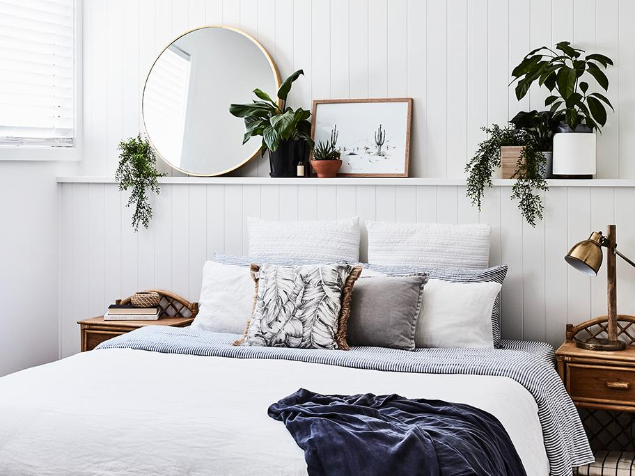 Sposób na mini sypialnię