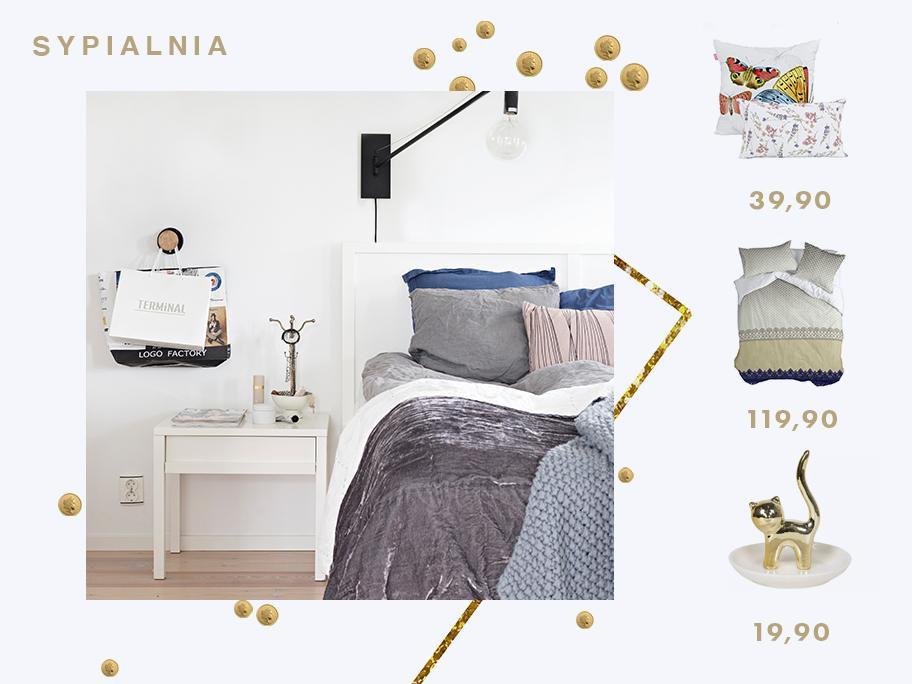 Sypialnia niskich cen