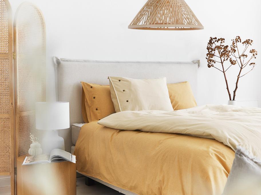 Sypialnia pełna słońca