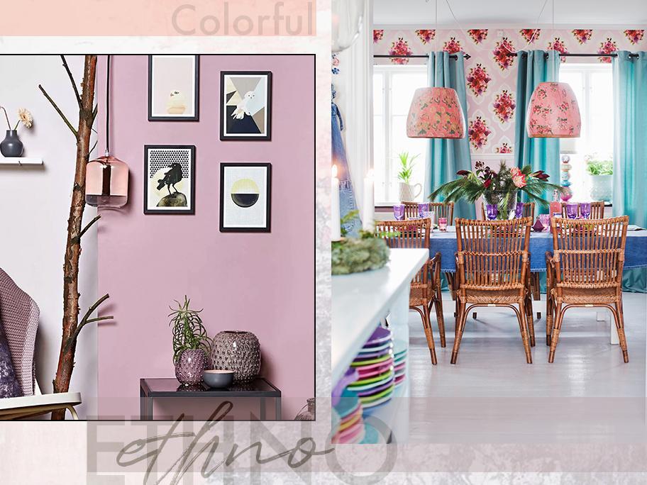 Colorful ethno