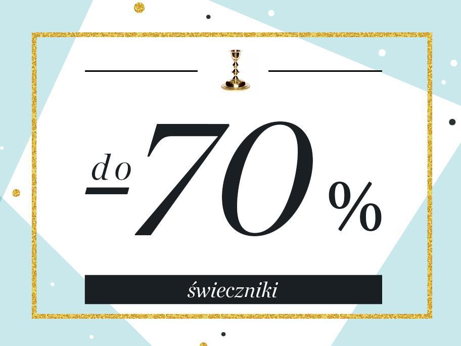 Świeczniki do -70%