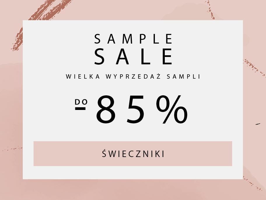 SAMPLE SALE Swieczniki