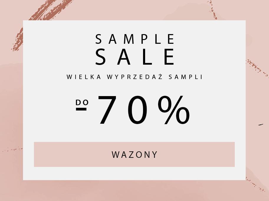 SAMPLE SALE  Wazony