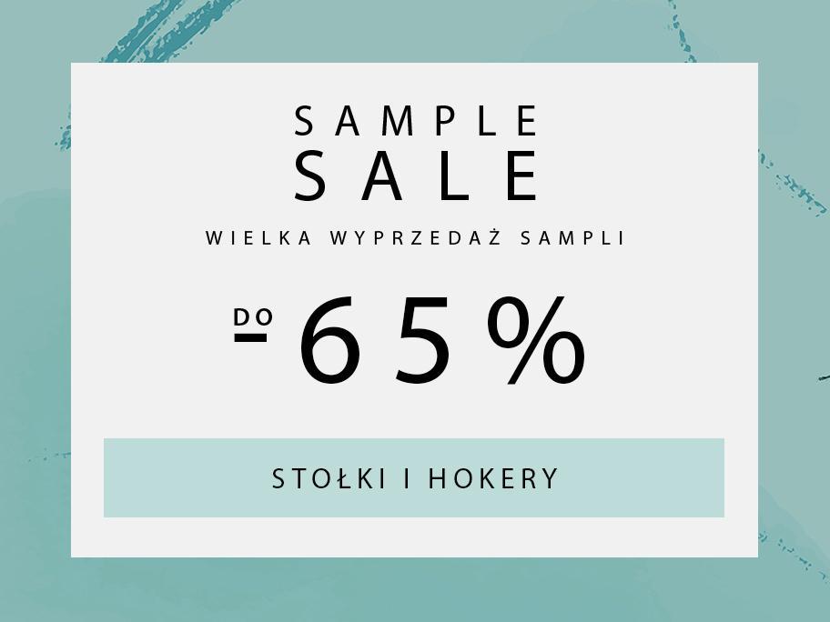SAMPLE SALE  Stolki, hokery
