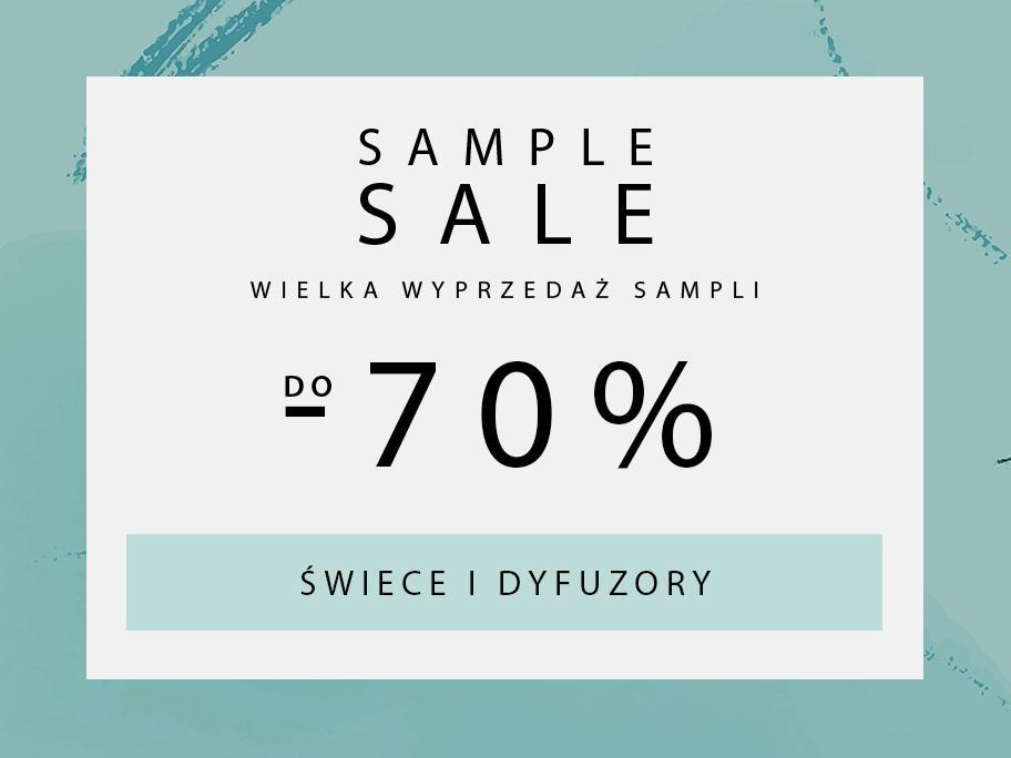 SAMPLE SALE Swiece i dyfuzory