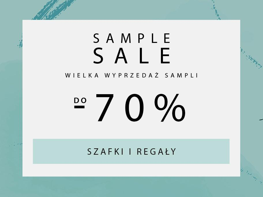 SAMPLE SALE Szafy i kredensy