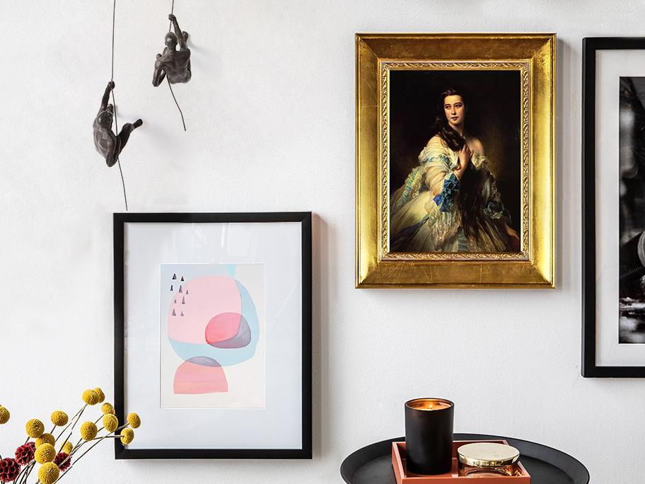 Wypełnij dom sztuką