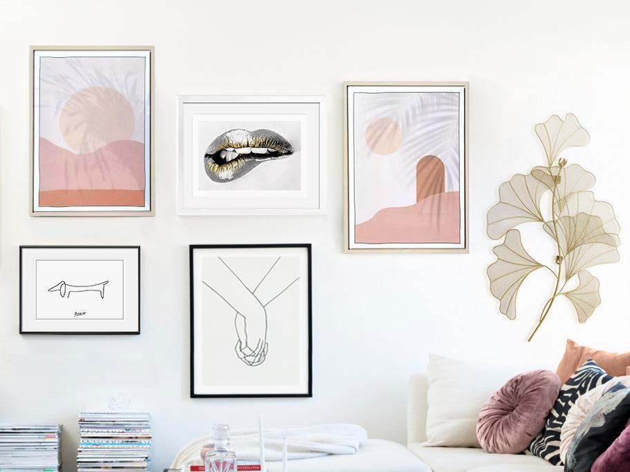 Ściany w stylu Contemporary