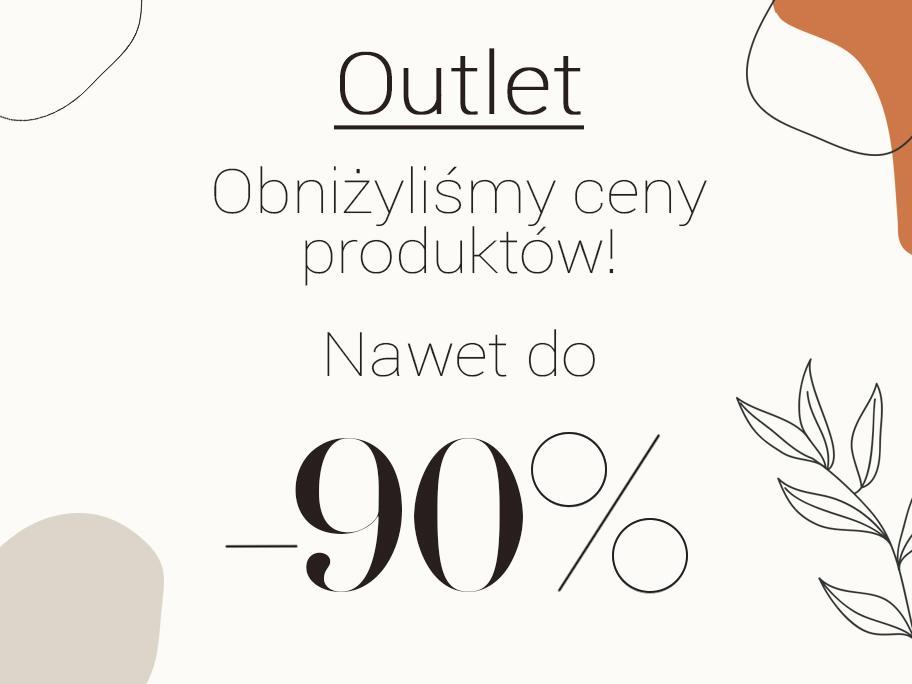 O U T L E T -90% -80% -70%