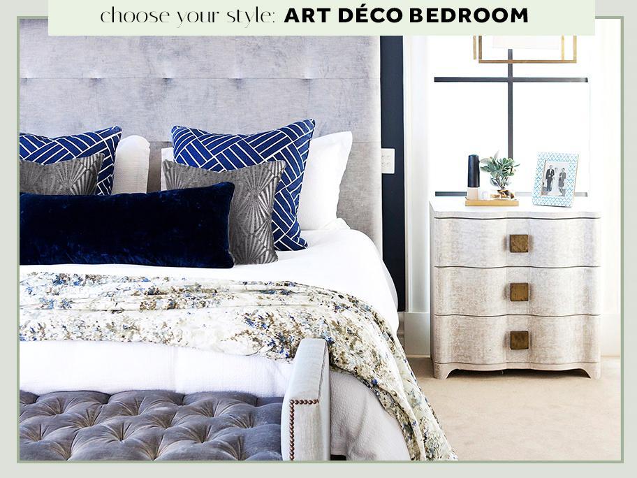 Sypialnia w stylu Art Déco