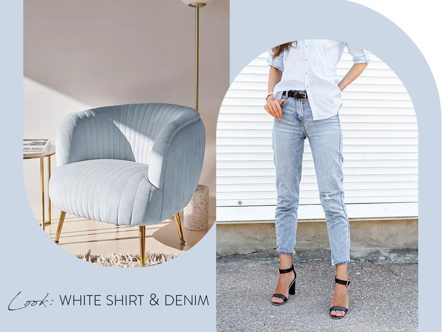 Inspiracja: Jeansy i koszula