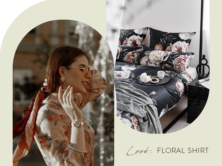 Inspiracja: Koszula w kwiaty