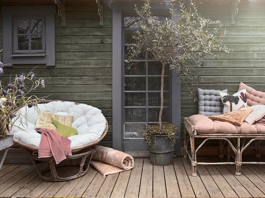 Boho oaza: balkon i taras